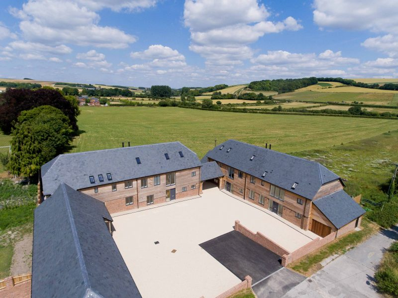 Exclusive Contemporary Barn Style Homes – Codford